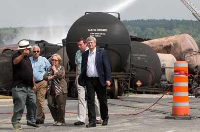 加拿大油罐列車爆炸已致5人死亡