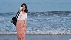 海邊戲水 享受清涼