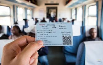 """通訊:開往印度洋港口的""""中國造""""列車"""