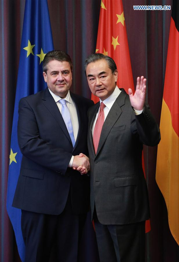 GERMANY-BONN-CHINA-FM-MEETING