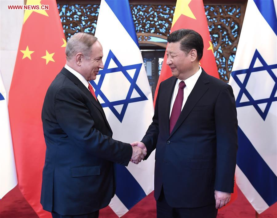 CHINA-BEIJING-XI JINPING-ISRAEL PM-MEETING (CN)