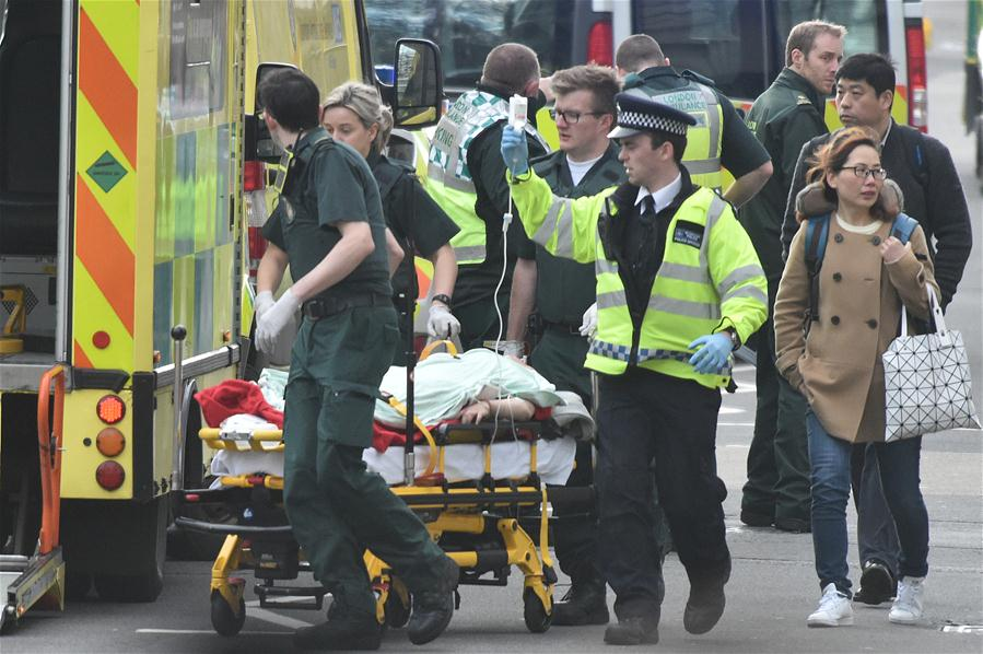 Galerry people dead 20 injured in London attack Blogger