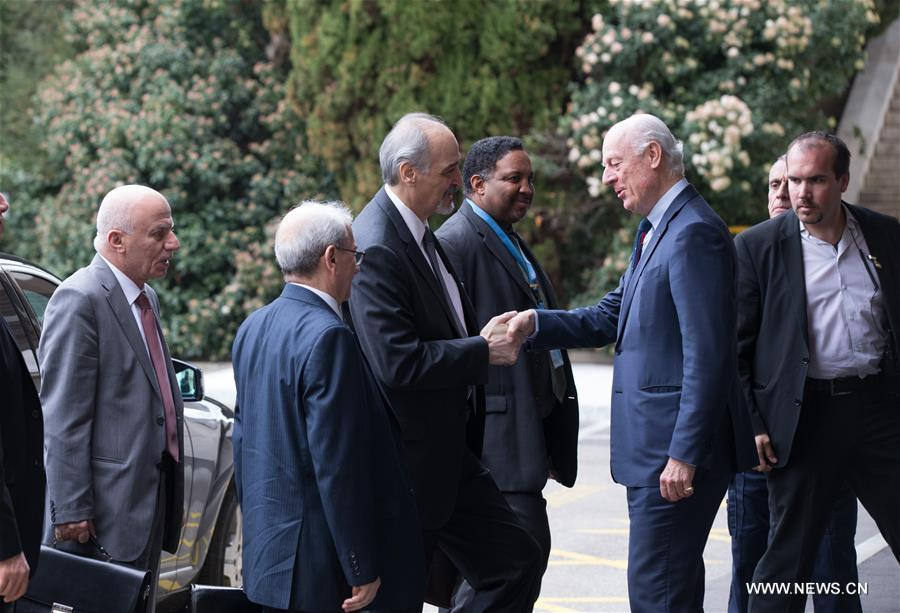 SWITZERLAND-GENEVA-UN-SYRIA PEACE TALKS
