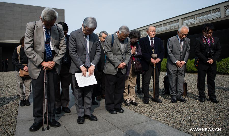 CHINA-NANJING-NANJING MASSACRE VICTIMS-JAPANESE DELEGATION-MOURNING (CN)