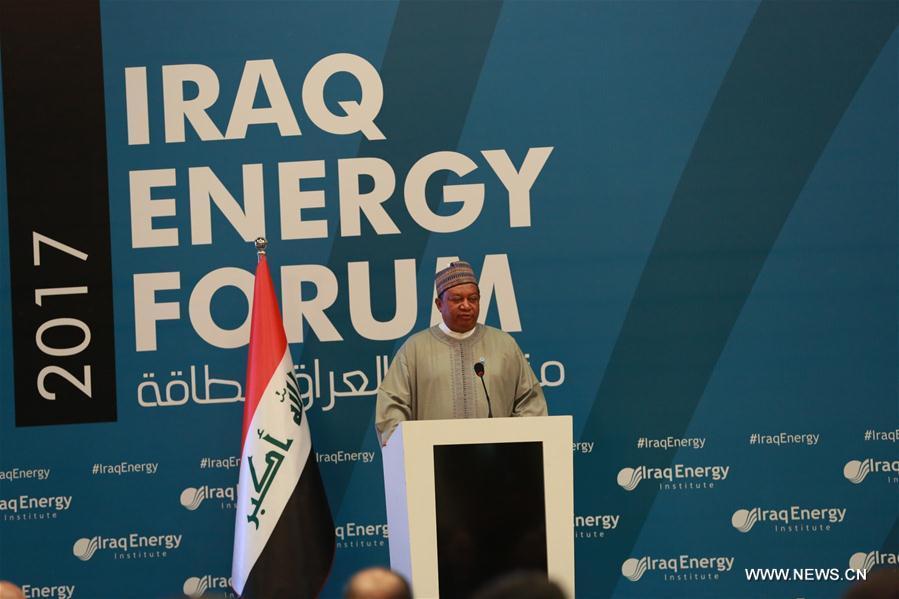IRAQ-BAGHDAD-IRAQ ENERGY FORUM-OPENING