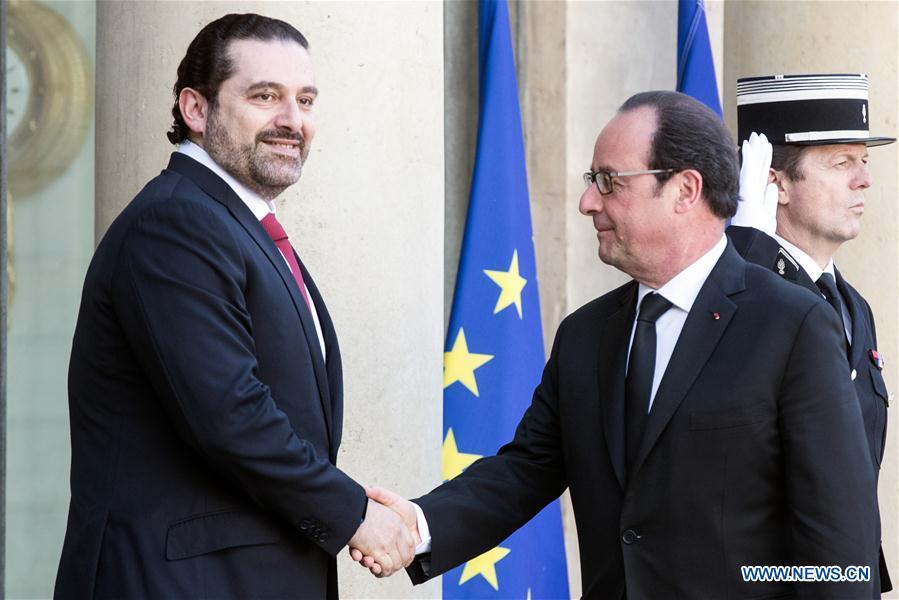 FRANCE-PARIS-LEBANON-PM-VISIT
