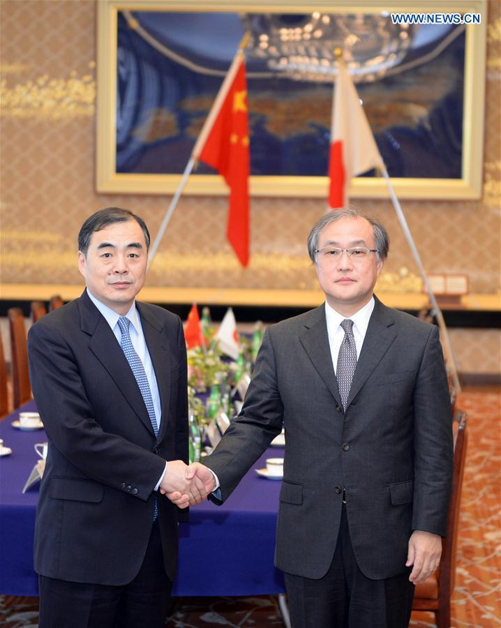 JAPAN-TOKYO-CHINA-SENIOR DIPLOMATS-MEETING