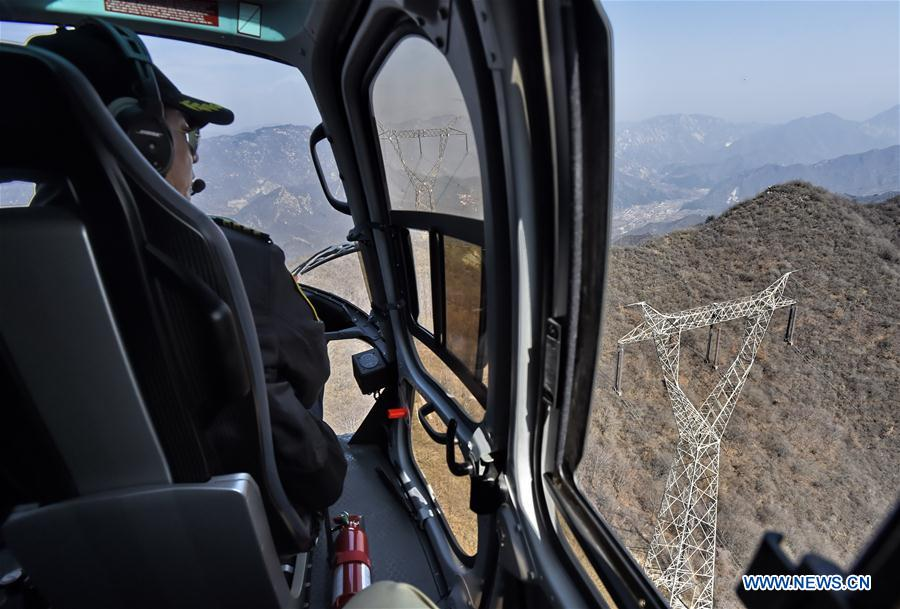 CHINA-BEIJING-POWER-AERIAL-INSPECTION (CN)