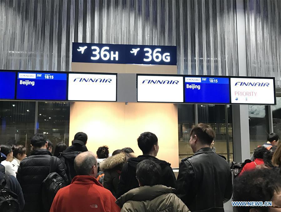 FINLAND-CHINA-FINNAIR