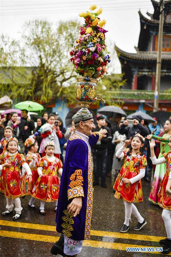 CHINA-XINJIANG-YINING-FOLK CULTURE TOURISM(CN)
