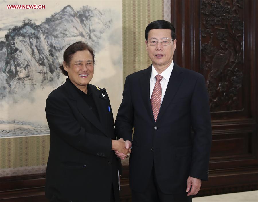 CHINA-THAILAND-ZHANG GAOLI-PRINCESS-MEETING (CN)