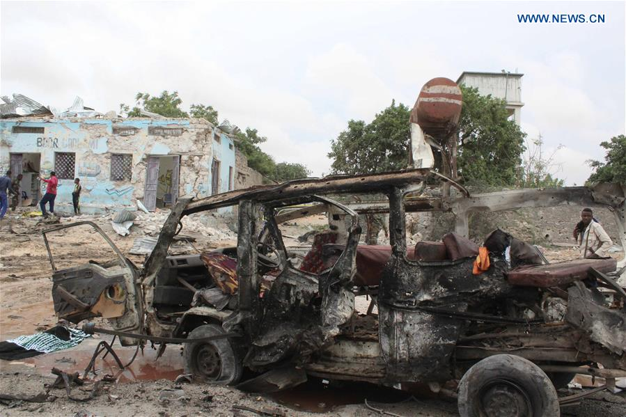 SOMALIA-MOGADISHU-BLAST