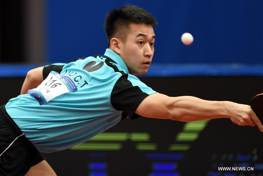(SP)CHINA-WUXI-TABLE TENNIS-2017 ITTF ASIAN CHAMPIONSHIPS-MEN'S TEAM QUARTERFINAL(CN)