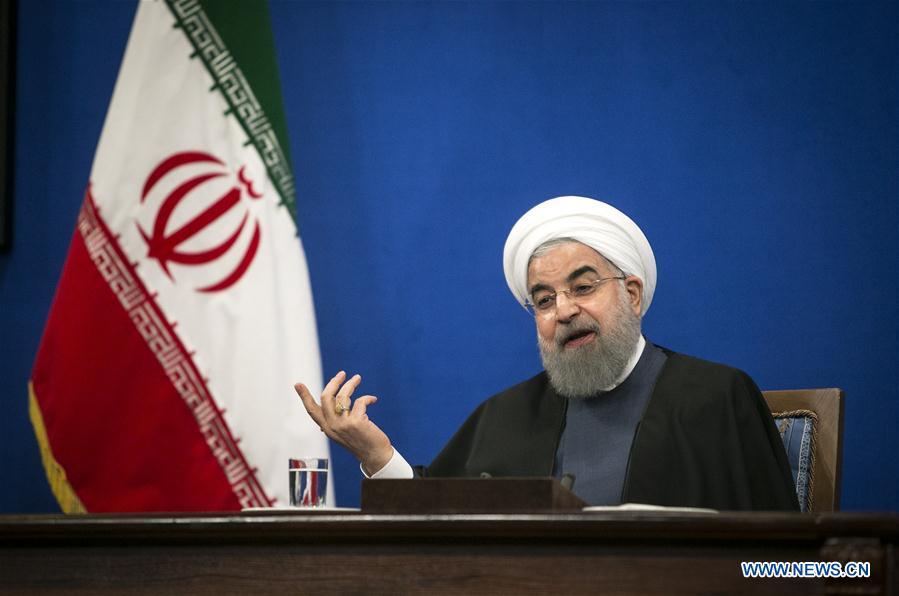 IRAN-TEHRAN-ROUHANI-NEWS CONFERENCE
