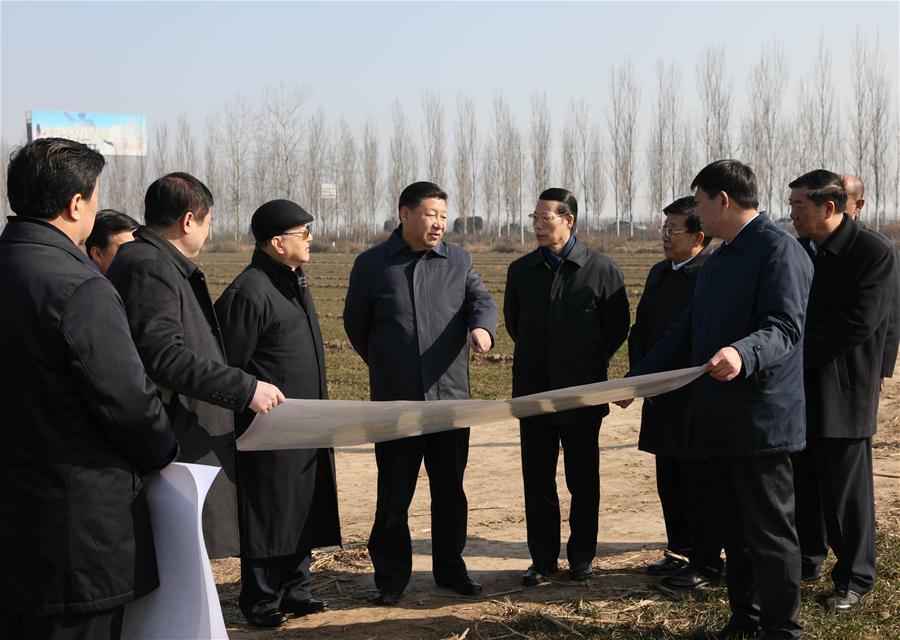 CHINA-HEBEI-XIONGAN-XI JINPING-INSPECTION (CN)