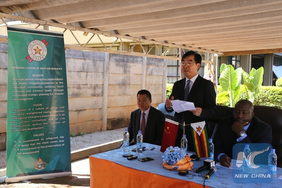 China hands over food to flood affected zimbabwean for Ambassador chinese cuisine
