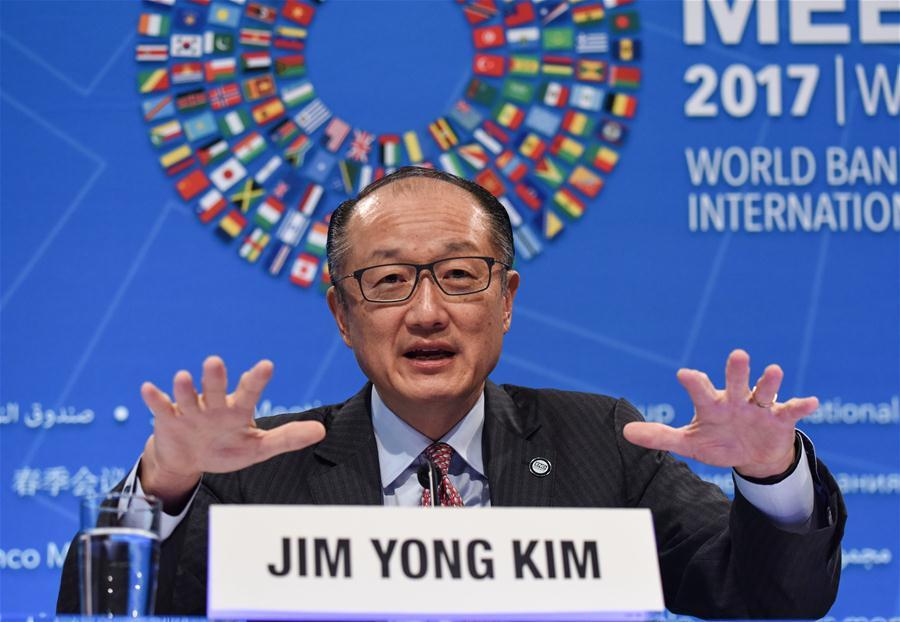 U.S.-WASHINGTON D.C.-WORLD BANK-PRESIDENT-PRESS CONFERENCE