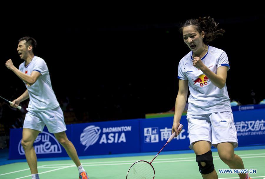 Spchina Wuhan Badminton Asia Championships Day Ase Cn