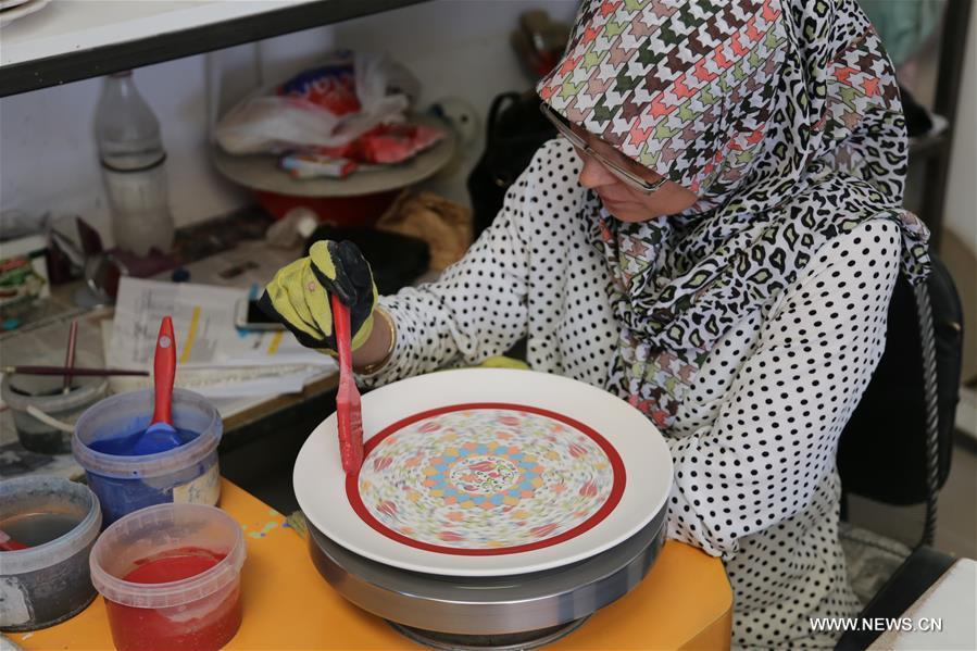 TURKEY-KUTAHAY-CINI INDUSTRY