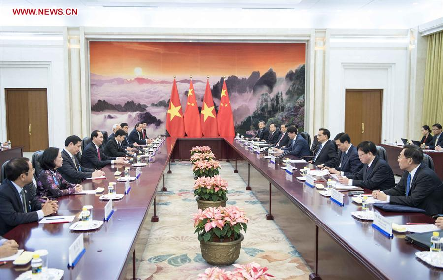 CHINA-BEIJING-LI KEQIANG-VIETNAM-MEETING (CN)