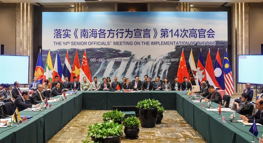 China, ASEAN countries agree on COC framework