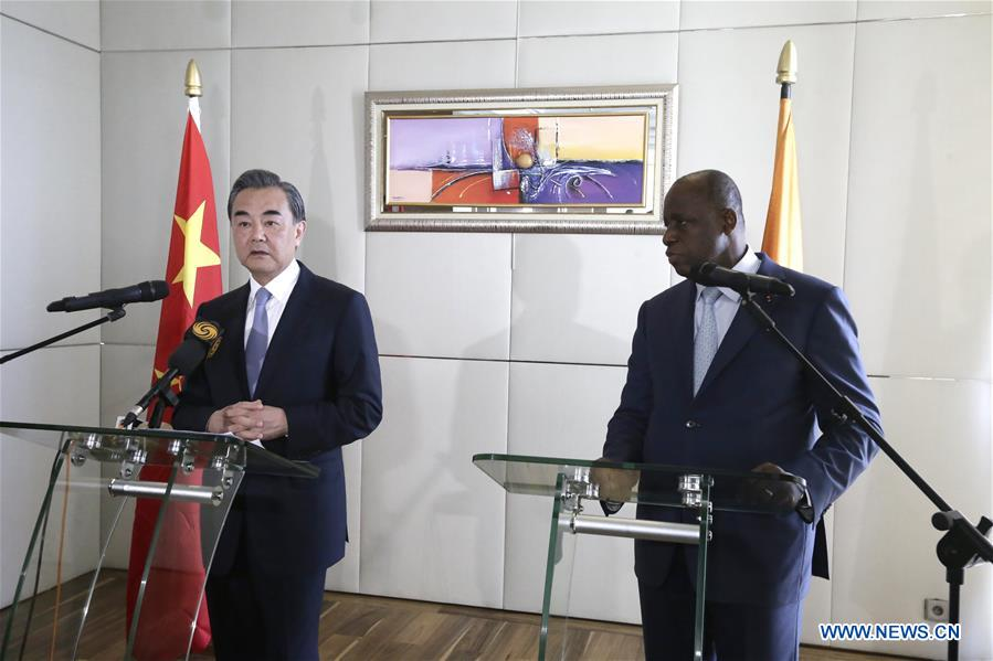 COTE D'IVOIRE-ABIDJAN-CHINA-WANG YI-VISIT