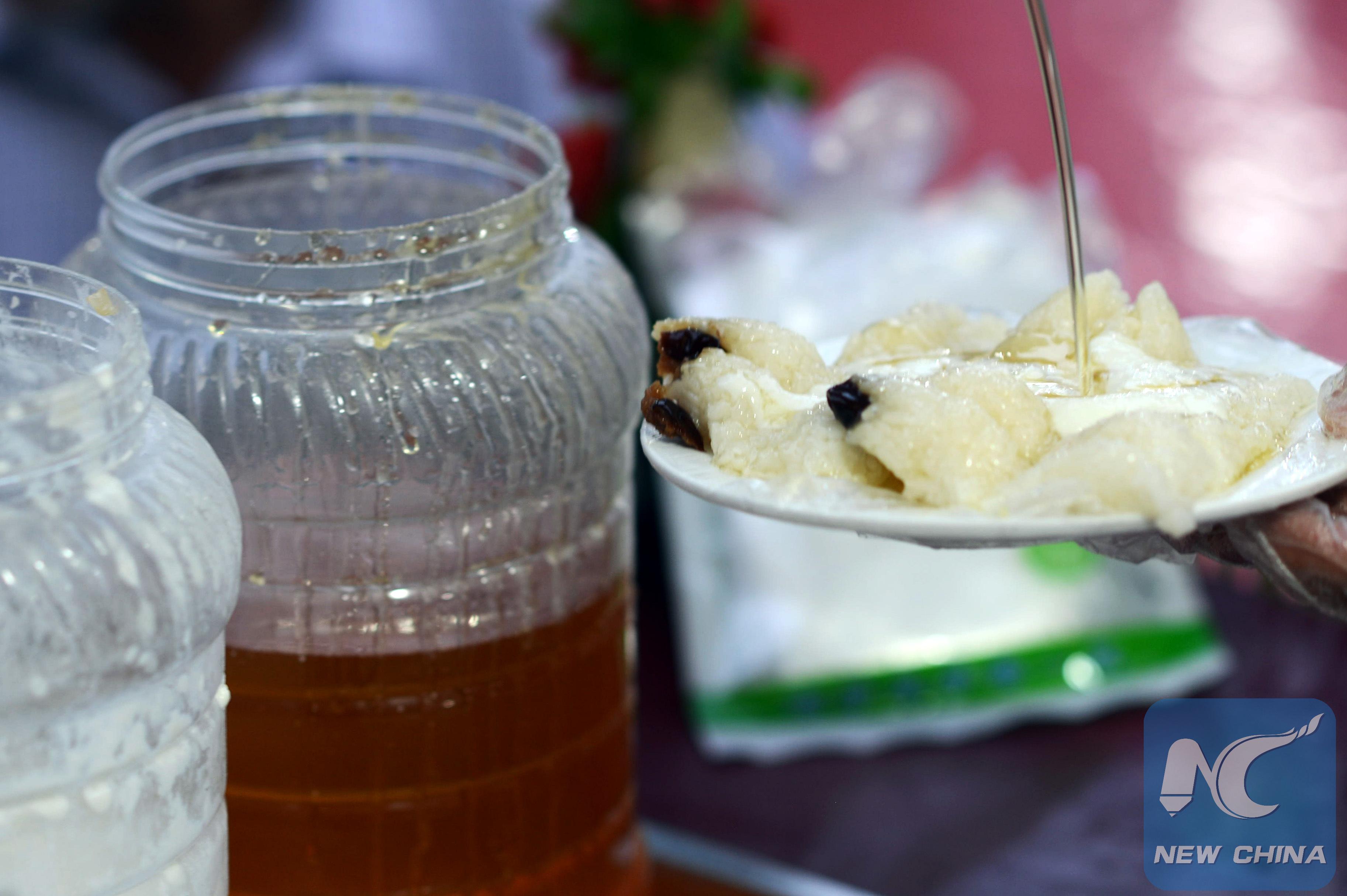 Uncategorized Wrap A Sweet sticky rice dumplings wrap a sweet taste in kashgar xinhua kashgar