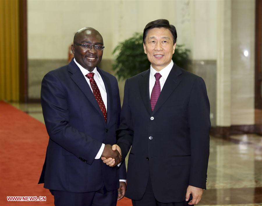 CHINA-BEIJING-LI YUANCHAO-GHANA-MEETING(CN)