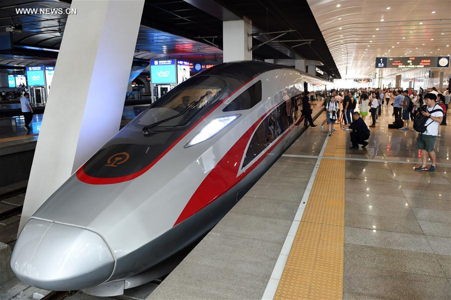 China's new high-speed train debuts on Beijing-Shanghai route - Xinhua | English.news.cn