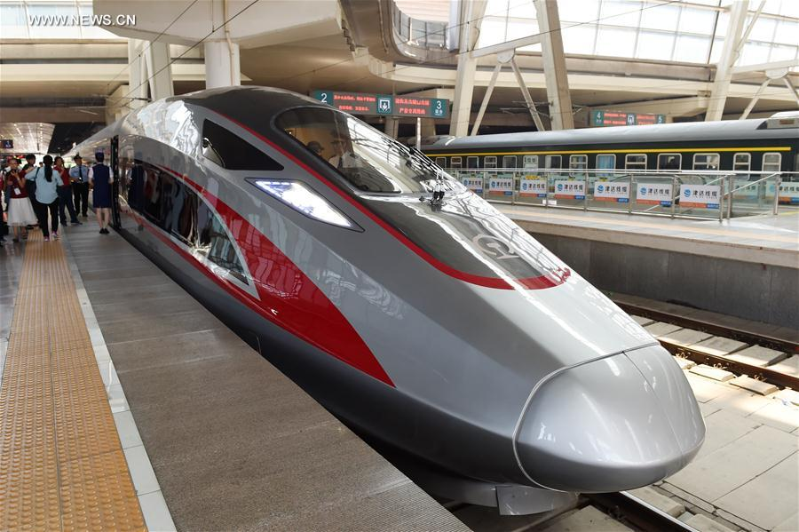 CHINA-BEIJING-NEW BULLET TRAIN-OPERATION (CN)