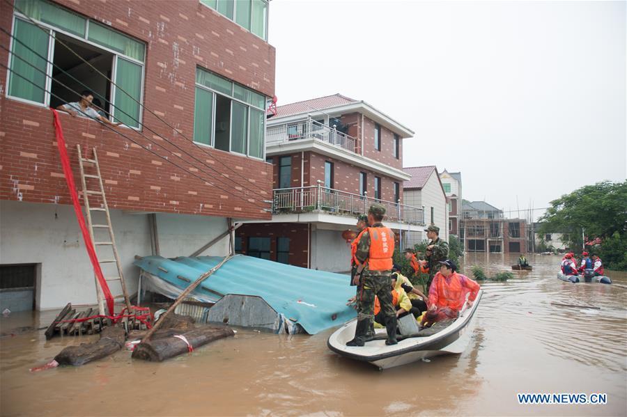 CHINA-ZHEJIANG-RIVER-FLOOD(CN)
