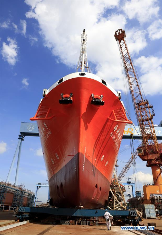 CHINA-GUANGDONG-MARINE RESEARCH VESSEL-UNVEIL (CN)