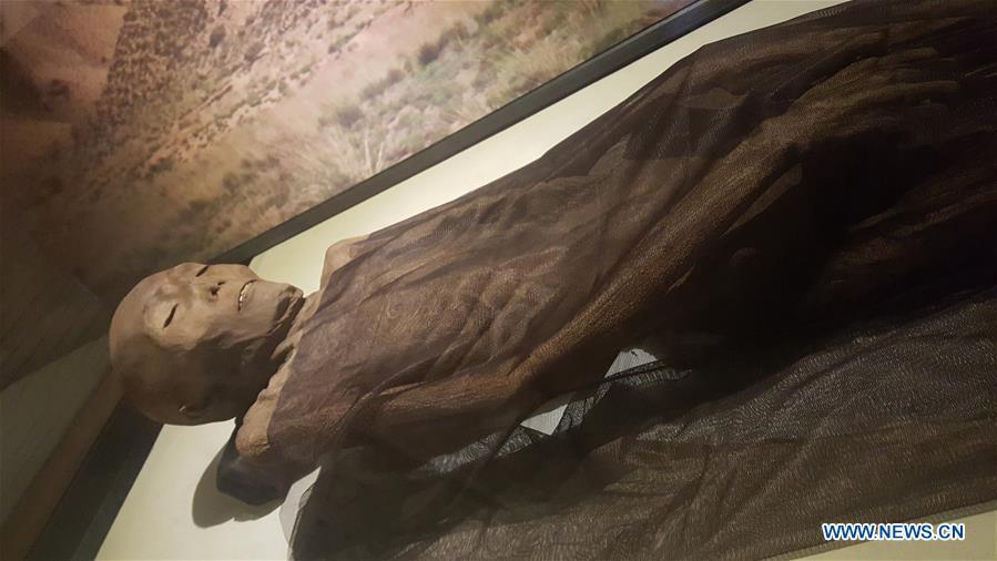China unearths millennia-old Silk Road mummy, still in ...