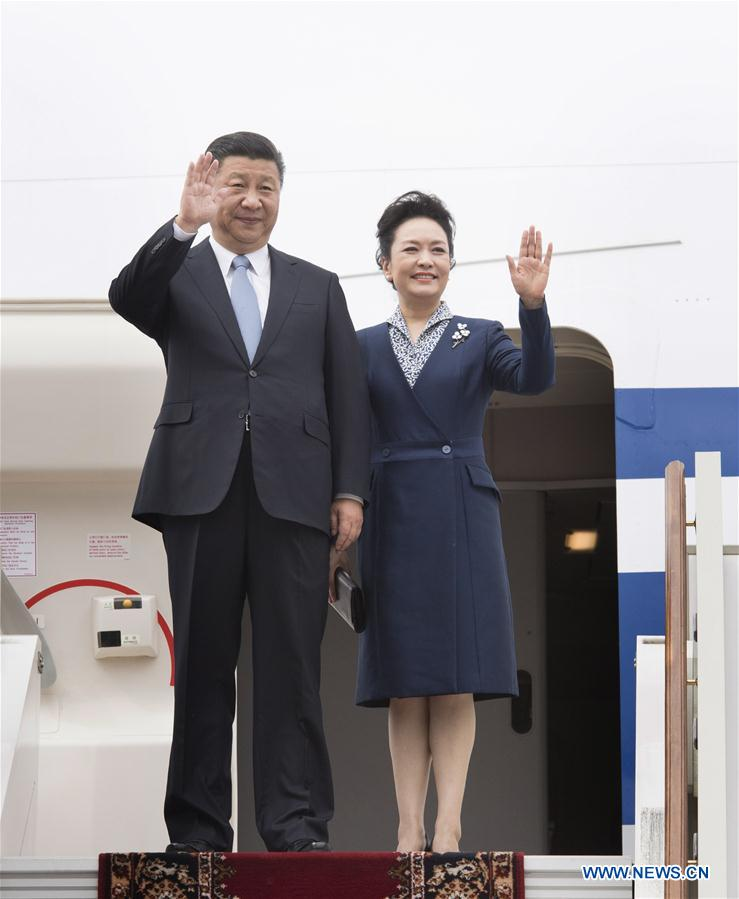 Xi arrives in Moscow for state visit to Russia