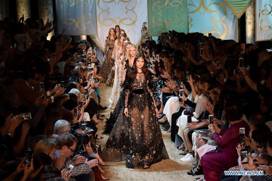 Elie saab haute couture 2017 18 f w collection presented for Haute in english