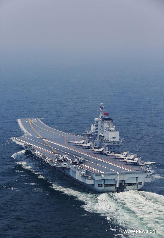 CHINA-AIRCRAFT CARRIER-COORDINATION TRAINING (CN)