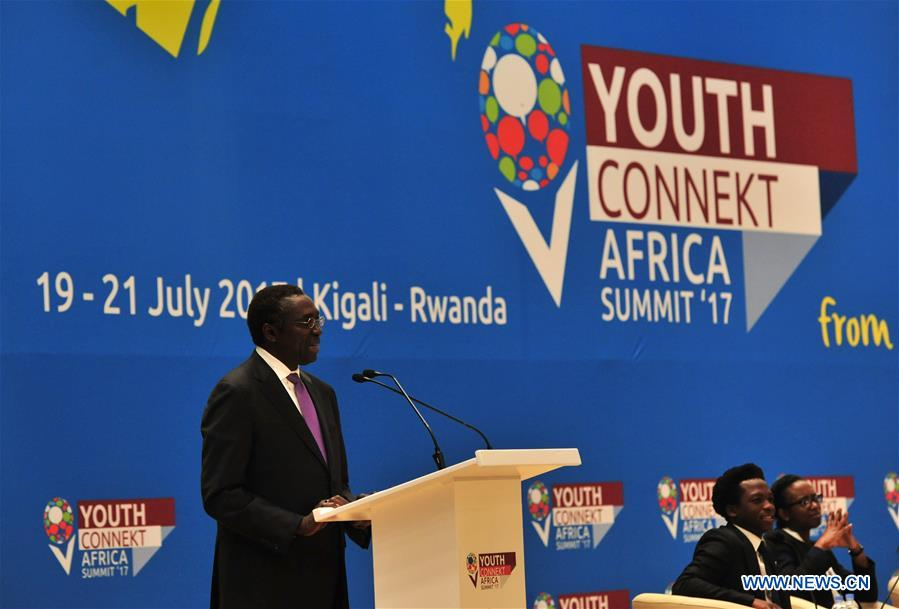RWANDA-KIGALI-YOUTHCONNEKT AFRICA SUMMIT-OPENING