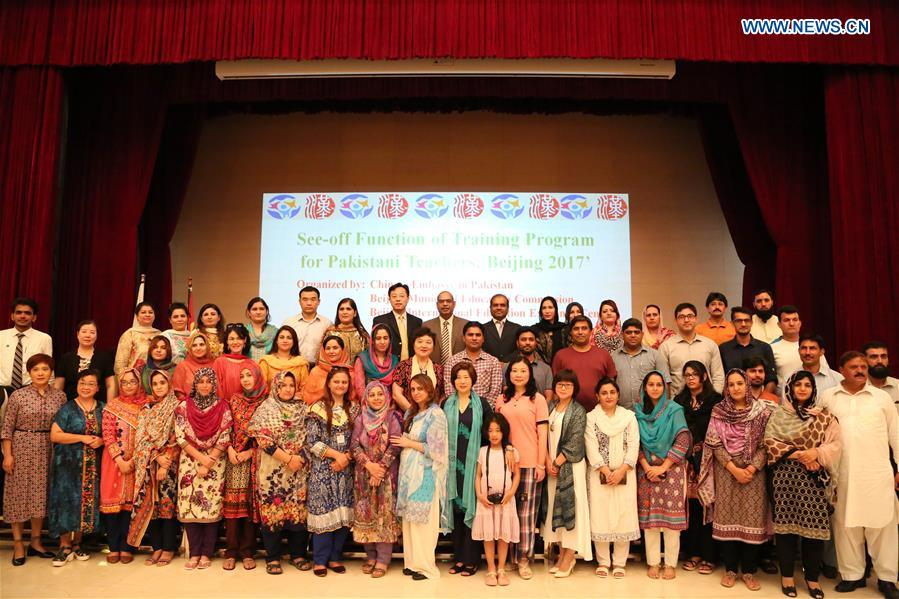 40 Pakistani teachers leave for Chinese language training in