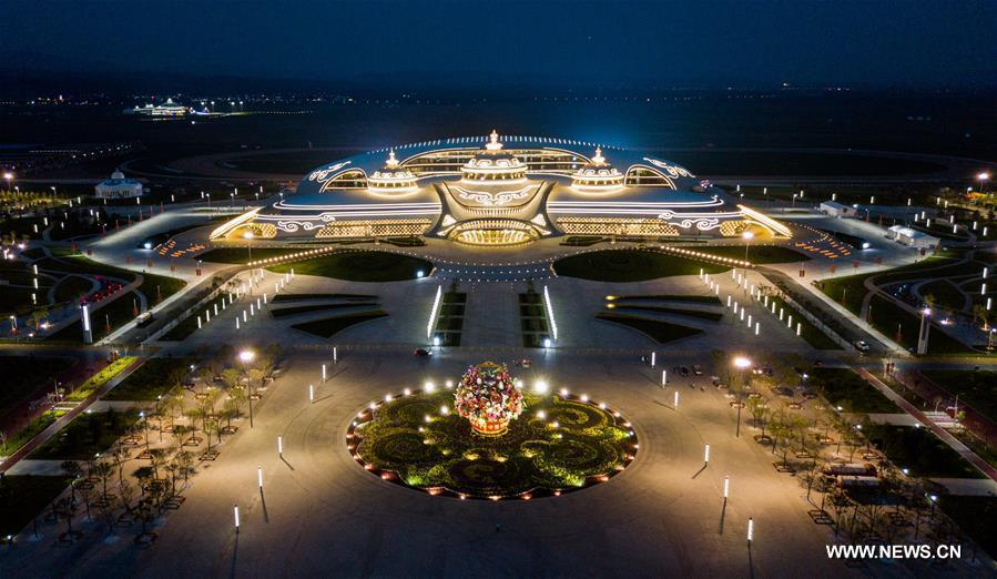 CHINA-INNER MONGOLIA-HOHHOT-AERIAL VIEW (CN)