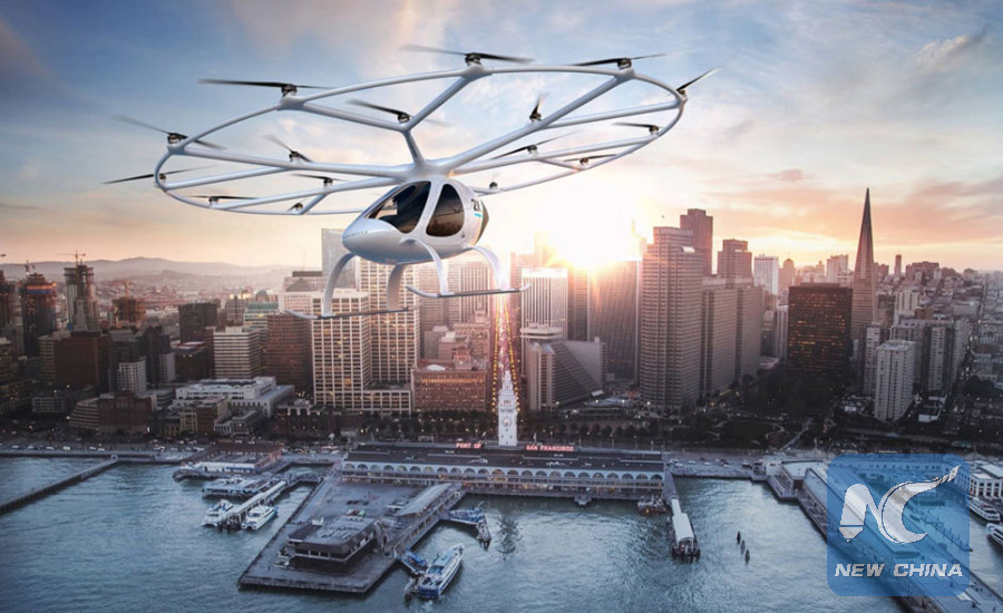 Image result for automated aerial taxis