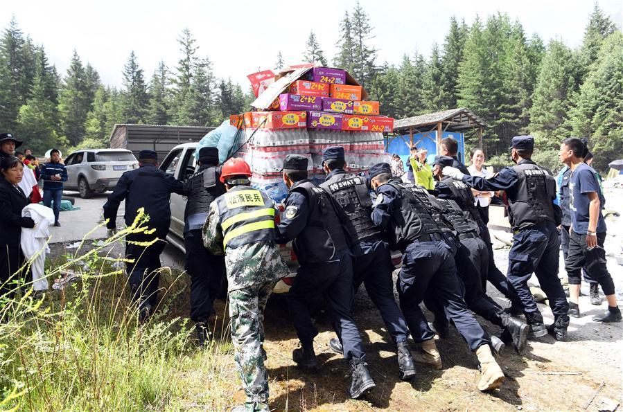 CHINA-SICHUAN-JIUZHAIGOU-EARTHQUAKE-RESCUE (CN)