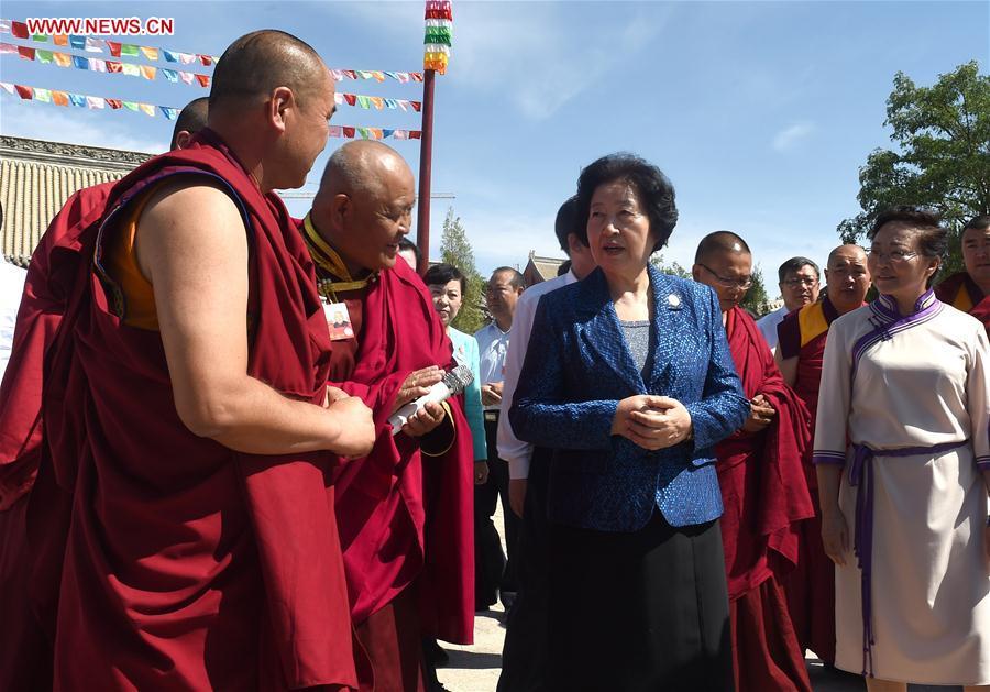 CHINA-INNER MONGOLIA-BAYANHOT-SUN CHUNLAN-INSPECTION (CN)