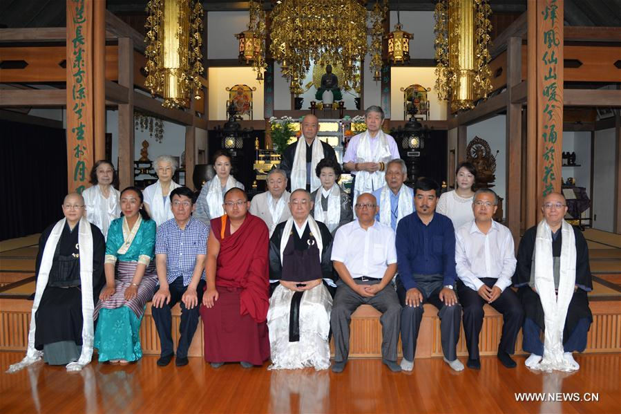 Chinese delegation introduces Tibet's development in Japan