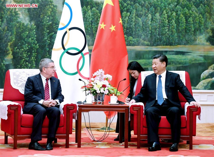 China to make sure 2022 Winter Olympic Games great success: President Xi