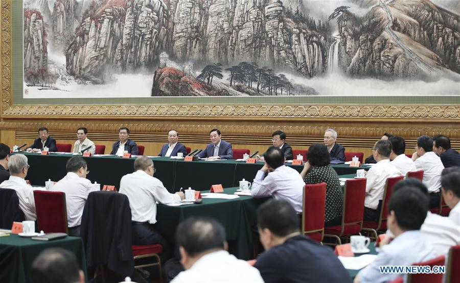 CHINA-BEIJING-LIU QIBAO-MEETING (CN)