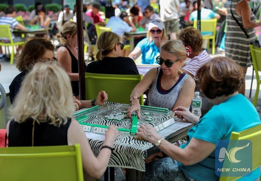Mahjongg becomes popular pastime for Americans - Xinhua