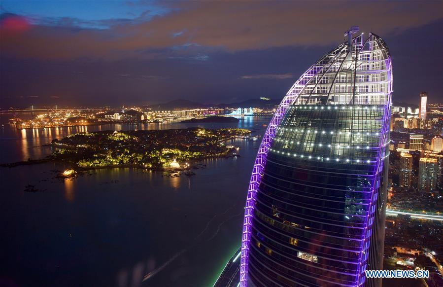 (XIAMEN SUMMIT)CHINA-XIAMEN-BRICS-NIGHT VIEW (CN)
