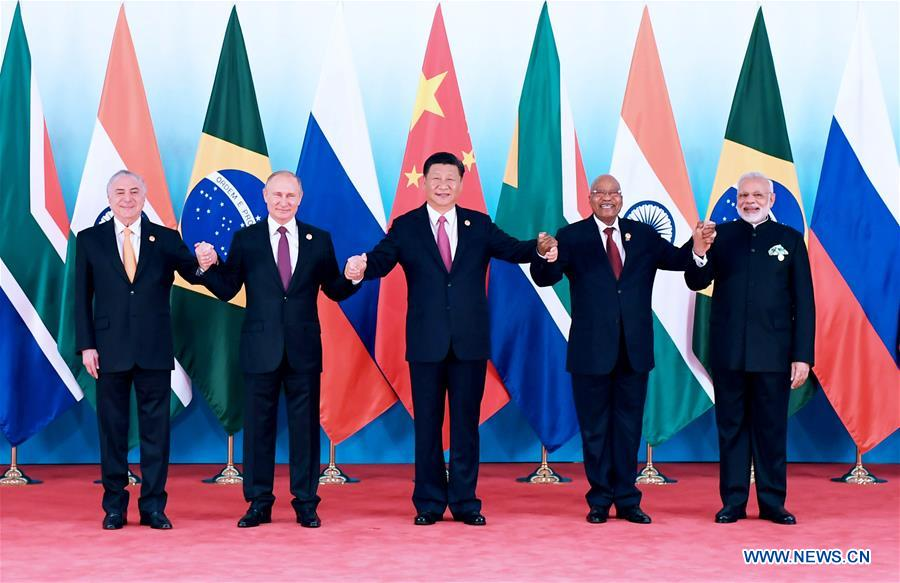 (XIAMEN SUMMIT)CHINA-XIAMEN-BRICS-XI JINPING-MEETING (CN)