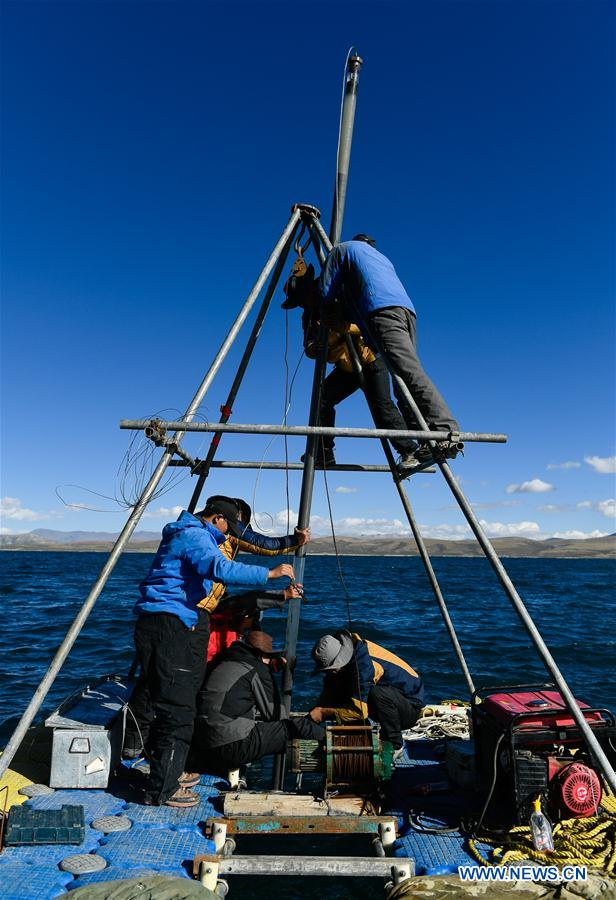 CHINA-TIBET-SCIENTIFIC EXPEDITION-LAKE (CN)