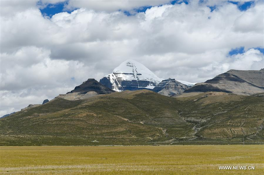 Scenery of Ngari Prefecture in China's Tibet